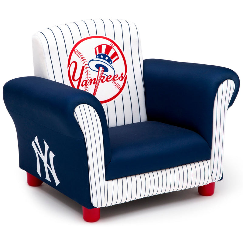 Delta Children New York Yankees Kids Upholstered Toddler Chair