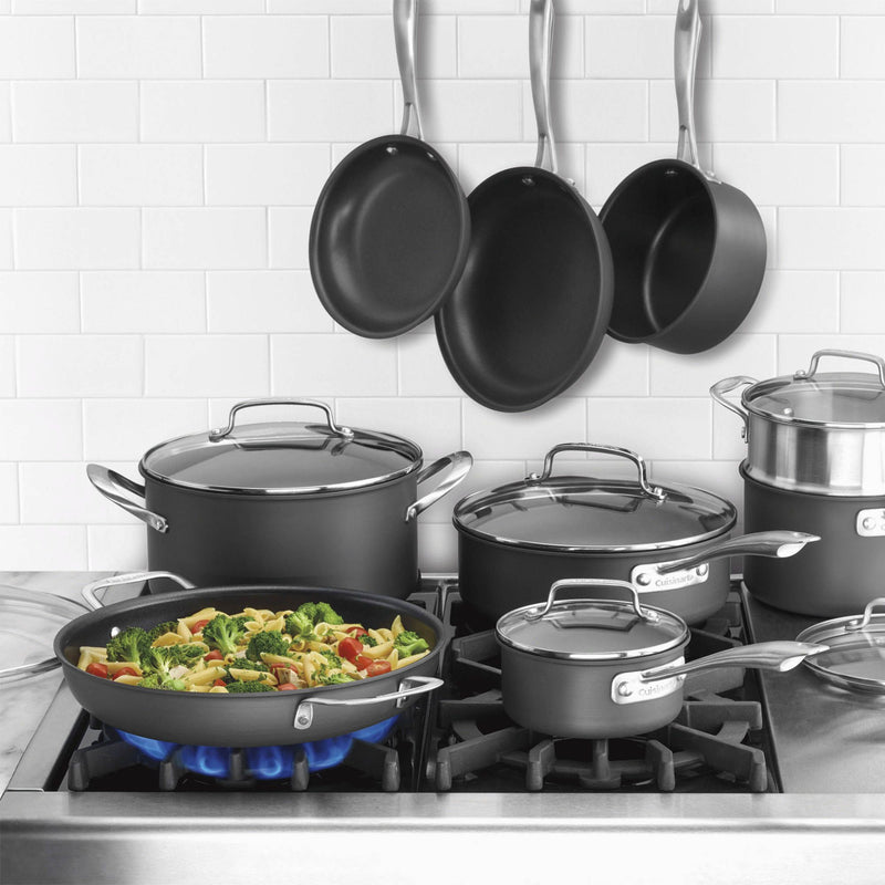 Cuisinart Professional Non-Stick Hard Anodized 15-Pc.Cookware Set