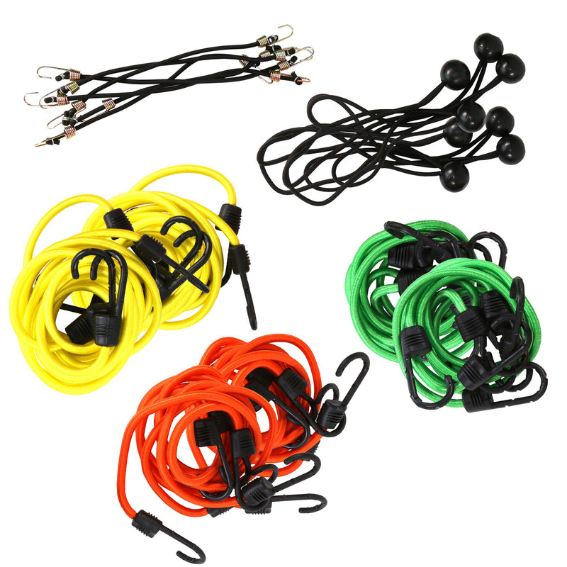 SmartStraps 40-Pc. Bungee Cord Value Pack