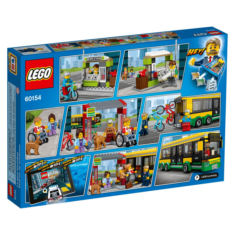 LEGO City Bus Station Set