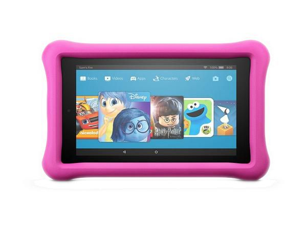 "Amazon Fire 7"" Kids Tablet 16GB Memory - Pink"