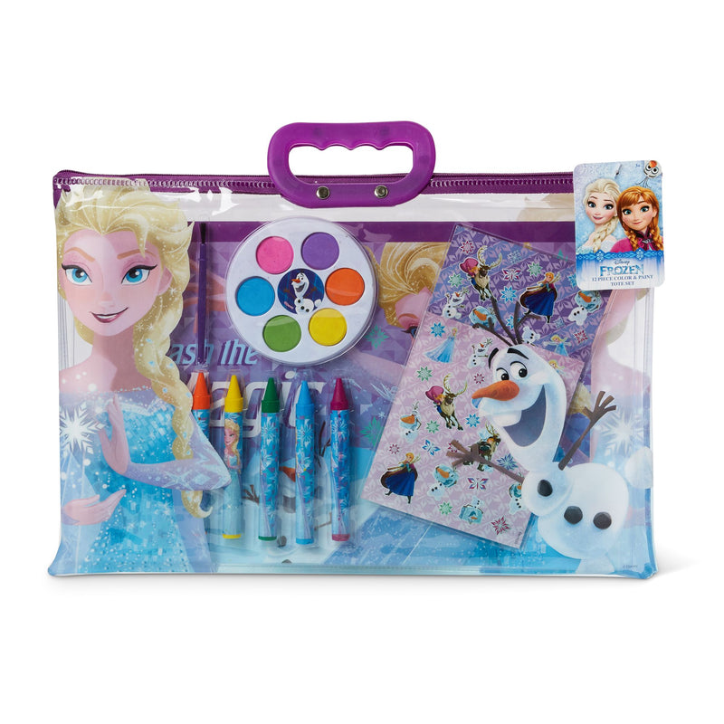 12-Pc. Color and Paint Tote - Frozen