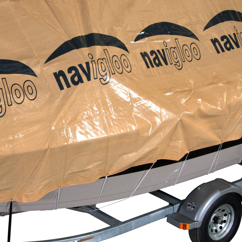 Navigloo Storage System for 14-19' Fishing Boats and Runabouts w/ 15' x 26' Tarpaulin