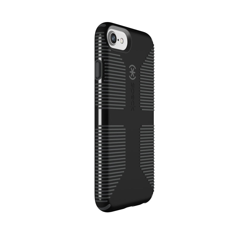 Speck CandyShell iPhone 7 6S 6 Phone Case - Black/Slate Grey