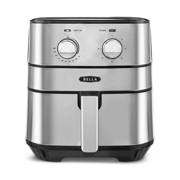Bella 4-qt. Stainless Steel Air Convection Fryer