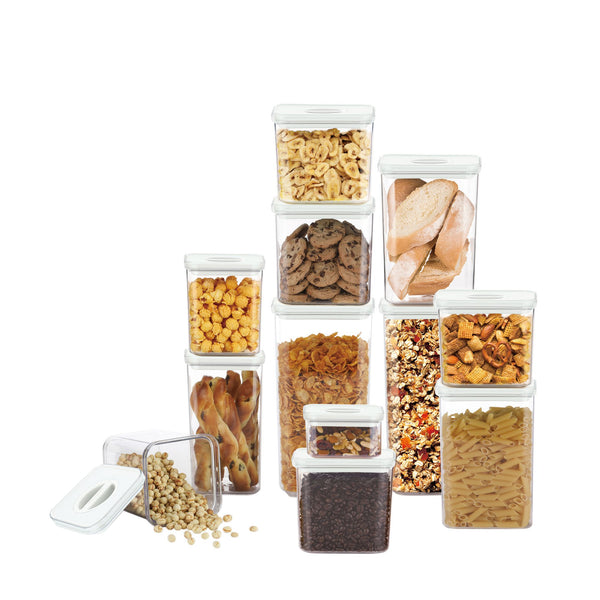 Neoflam Smart Seal Dry Food Pantry Canister Set 12 pk.