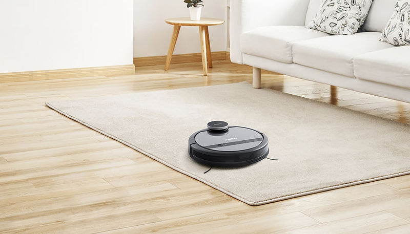 ECOVACS DEEBOT 901 Smart Robot Vacuum Cleans All Floors and Pet Hair Mapping Technology WiFi Connected w/ Alexa and Google