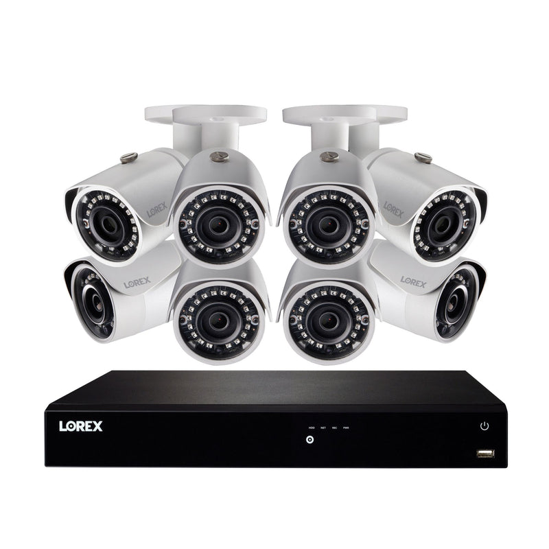 Lorex 16-Channel 8-Camera 5MP Security System w/ 2TB 4K HDD NVR