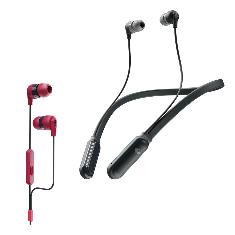 Skullcandy INK'D w/ BONUS Wired AND Wireless Headset Bundle 2pk.