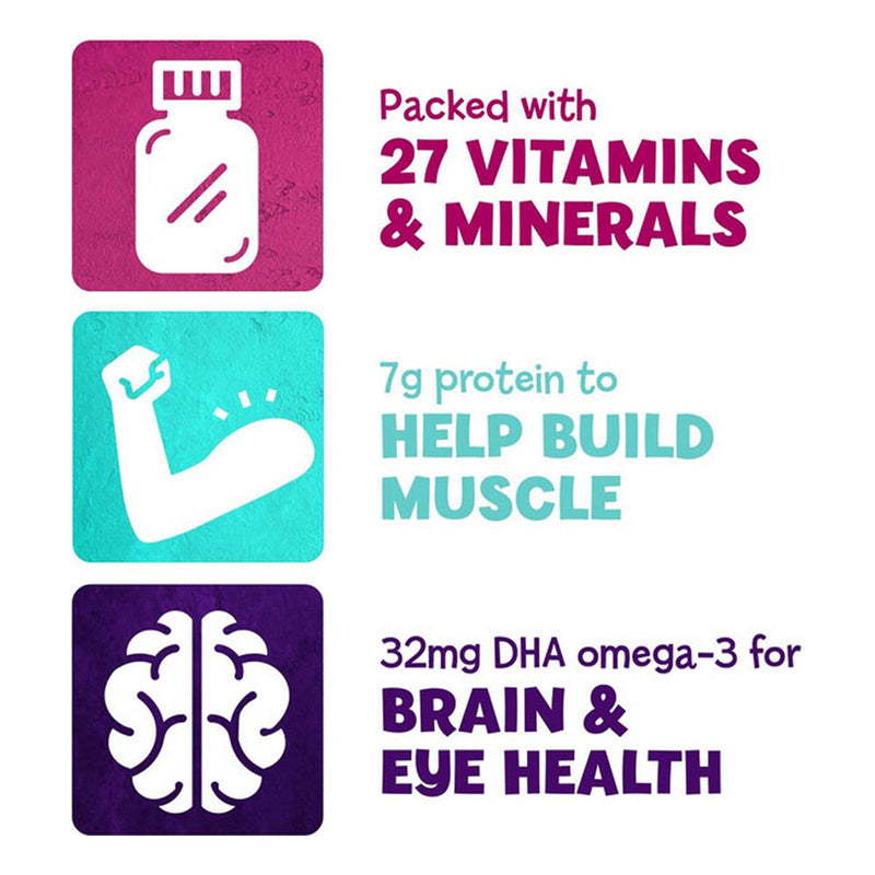 PediaSure Grow & Gain w/ Fiber Kids Nutritional Shake Vanilla Ready-to-Drink Bottles 24 pk./8 fl. oz.