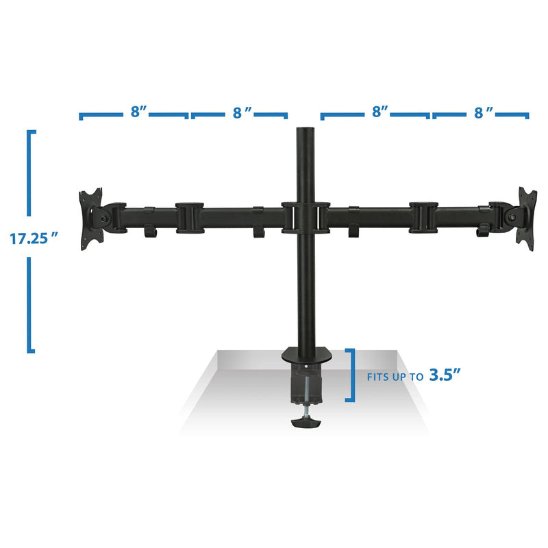 Mount-It MI-1752 Dual Monitor Spring Desk Mount
