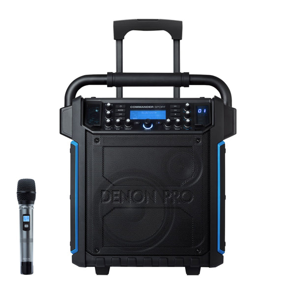 Denon Professional Commander Sport Portable PA System w/ Bluetooth