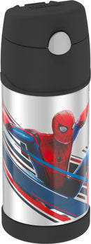 Thermos Stainless Steel Straw Bottle 12 oz.