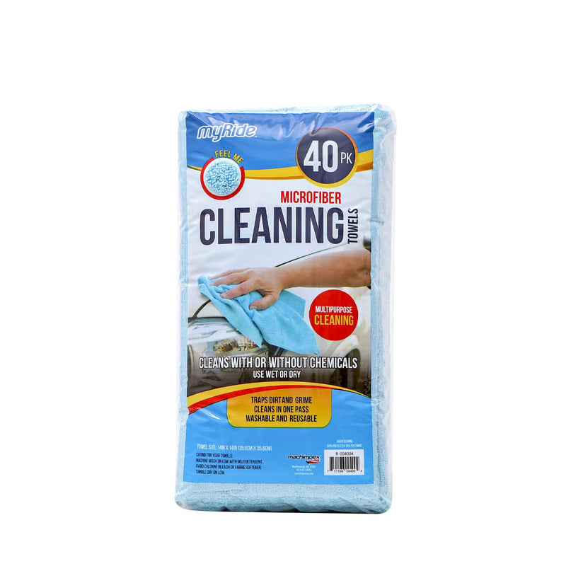 Microtex Lint-Free Microfiber Cleaning Towels 40 pk.