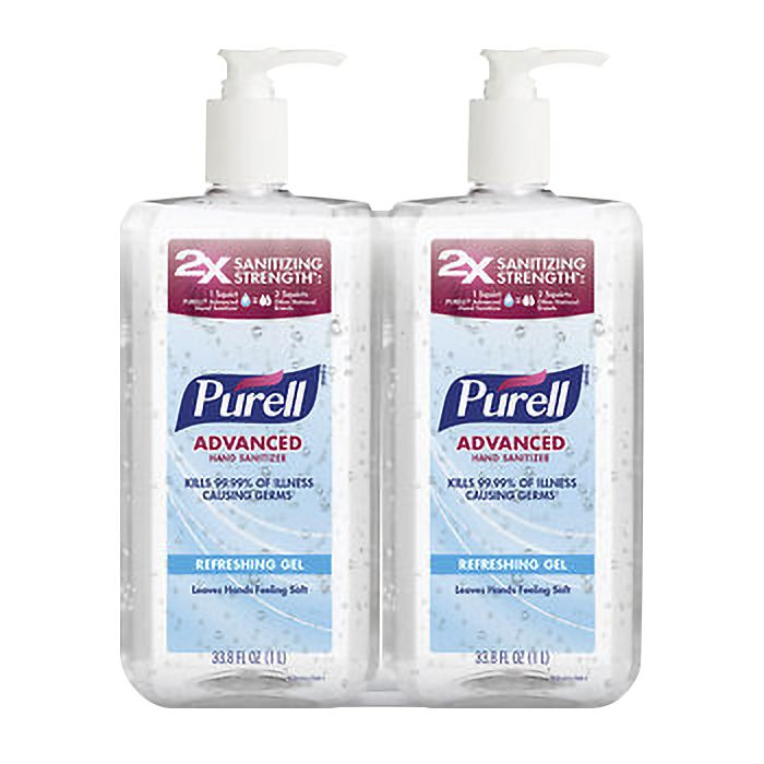 Purell Advanced Hand Sanitizer 2 pk./1L