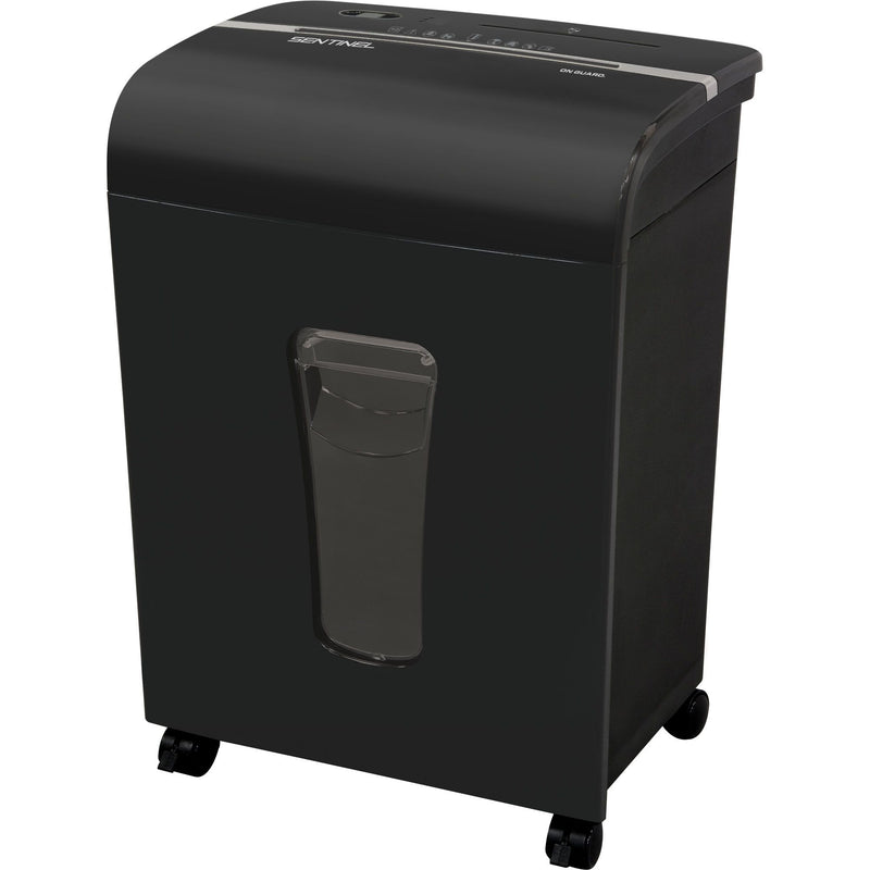 Sentinel 12-Sheet Microcut Shredder - Black