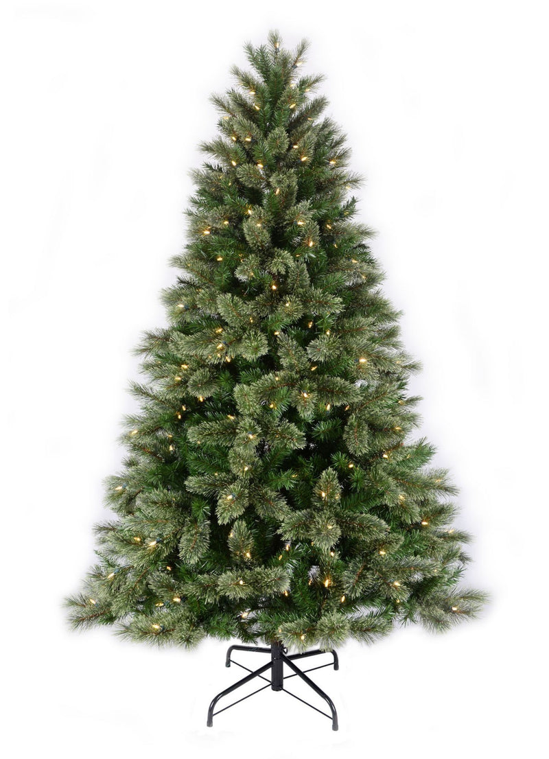 Sylvania 7.5' One-Plug Cashmere Christmas Tree - Warm White
