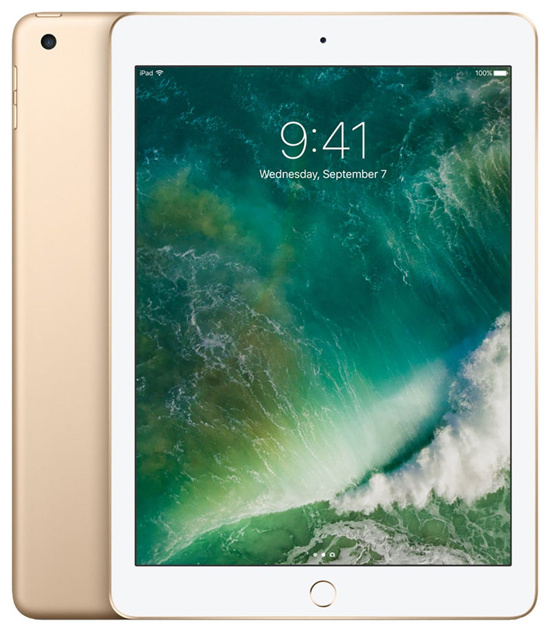 Apple iPad w/ Wi-Fi 128GB - Gold