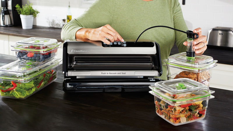 FoodSaver 2-in-1 Automatic Vacuum Sealing System w/ Retractable Handheld Sealer