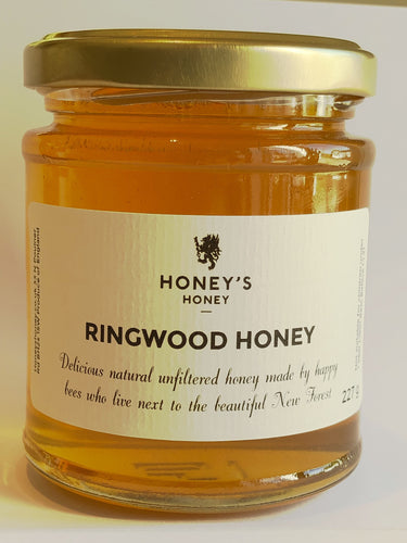 Honey's Honey Ringwood New Forest Honey 2019 crop