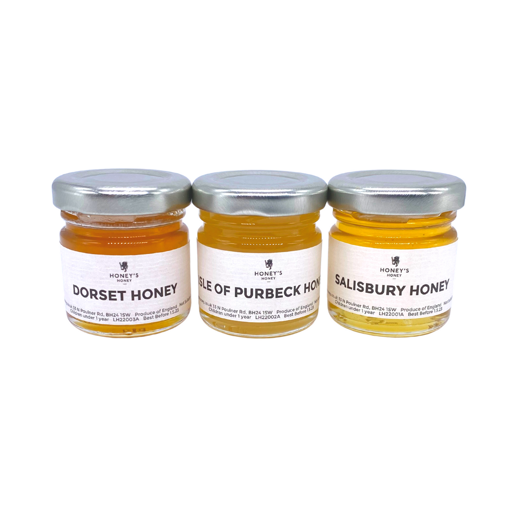 Local Honey Sample Pack
