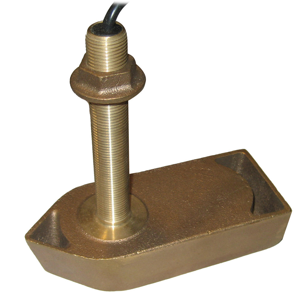 SI-TEX 307-50-200T 8 Pin Bronze Thru-Hull Transducer f/CVS-832