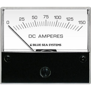 "Blue Sea 8018 DC Analog Ammeter - 2-3/4"" Face, 0-150 Amperes DC"