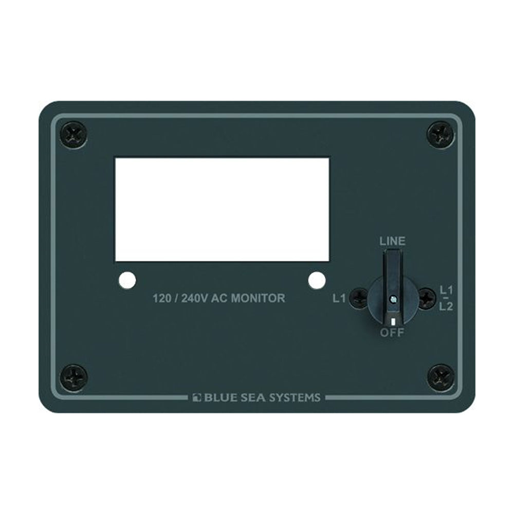 Blue Sea 8410 120/240 AC Digital Meter Panel