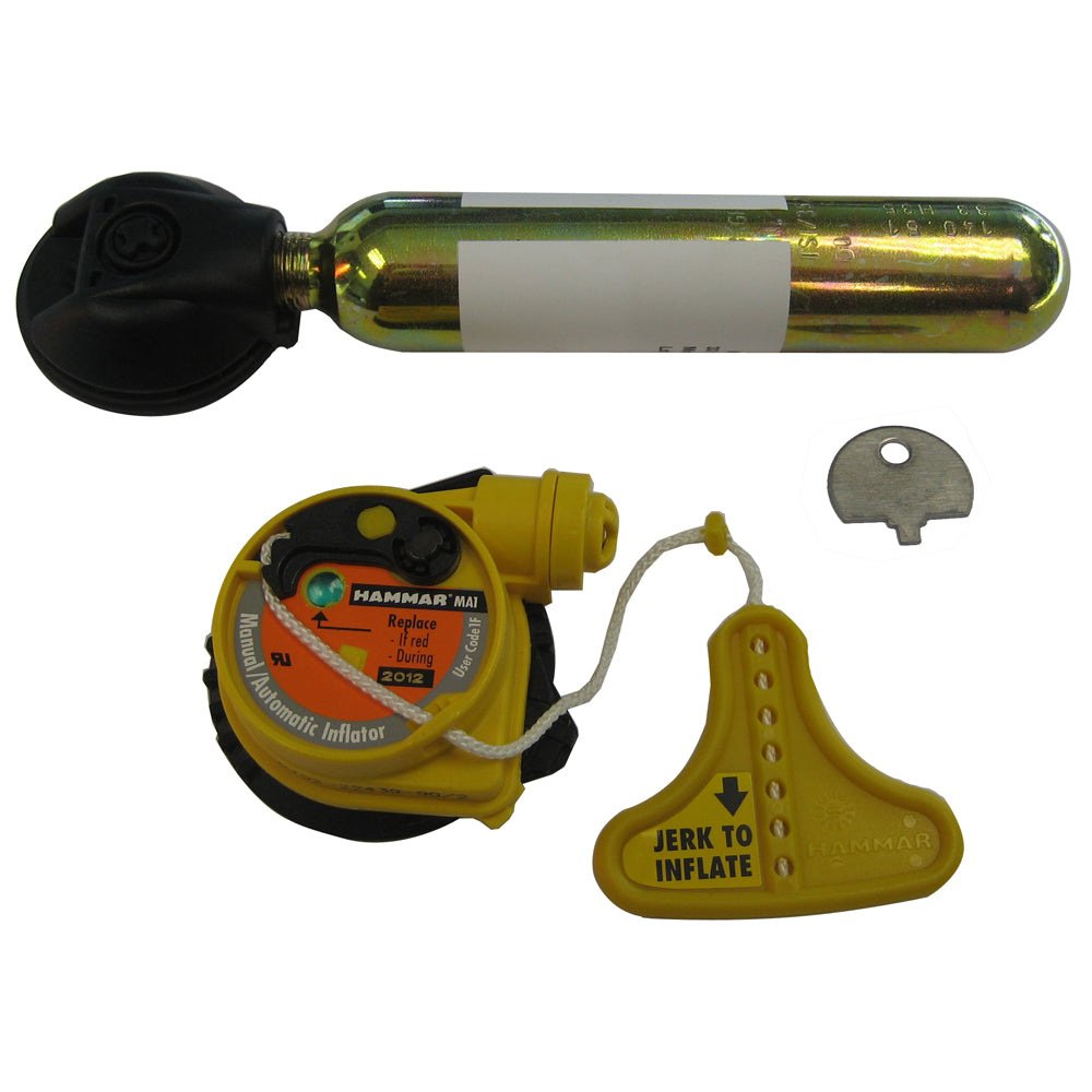 Mustang Hydrostatic Inflator Rearming Kit f/MD3183  MD3184