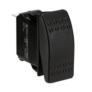 Paneltronics Switch SPDT Black On/Off/On Rocker