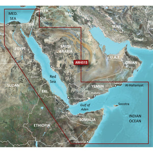 Garmin BlueChart g2 Vision HD - VAW451S - Red Sea - microSD/SD