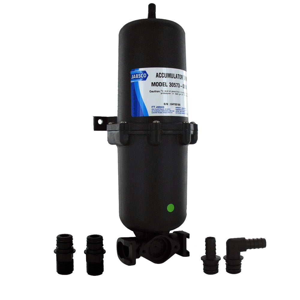 Jabsco 1L Accumulator Tank w/Internal Bladder