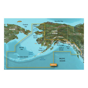 Garmin BlueChart g3 Vision HD - VUS517L - Alaska South - microSD/SD