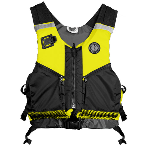 Mustang Operations Support Water Rescue Vest - M/L - Fluorscent Yellow-Green/Black