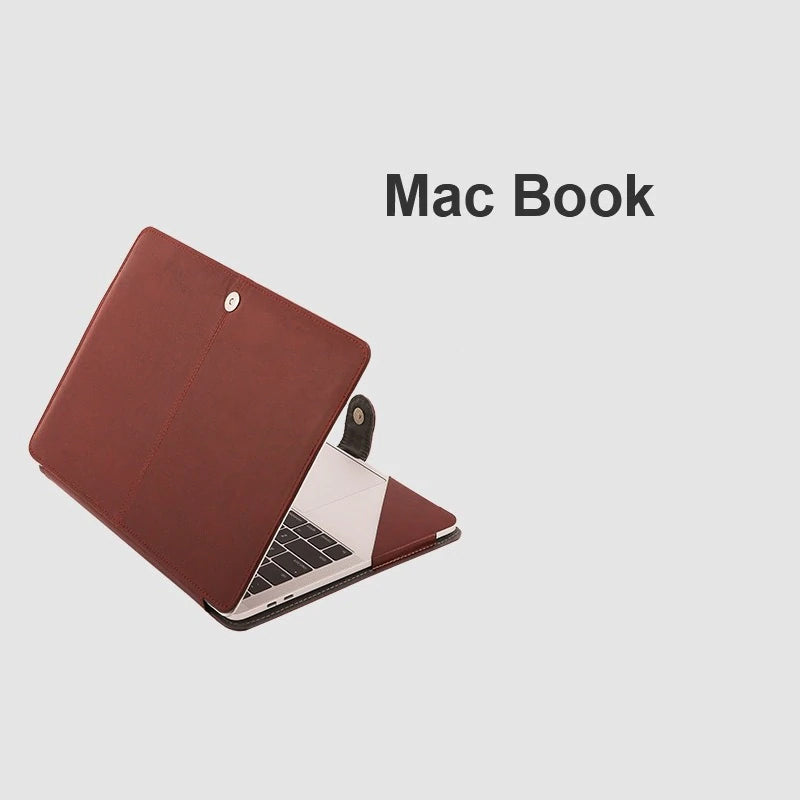 New 2020 PU Leather Stand Case for MacBook