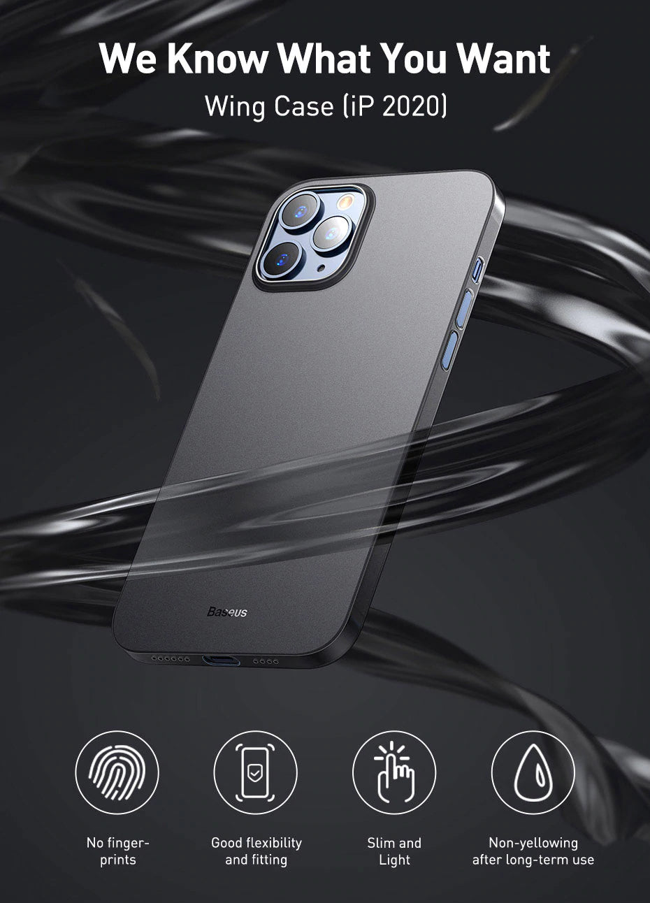 Luxury Ultra Thin Shockproof Phone Case For iPhone 12 Series