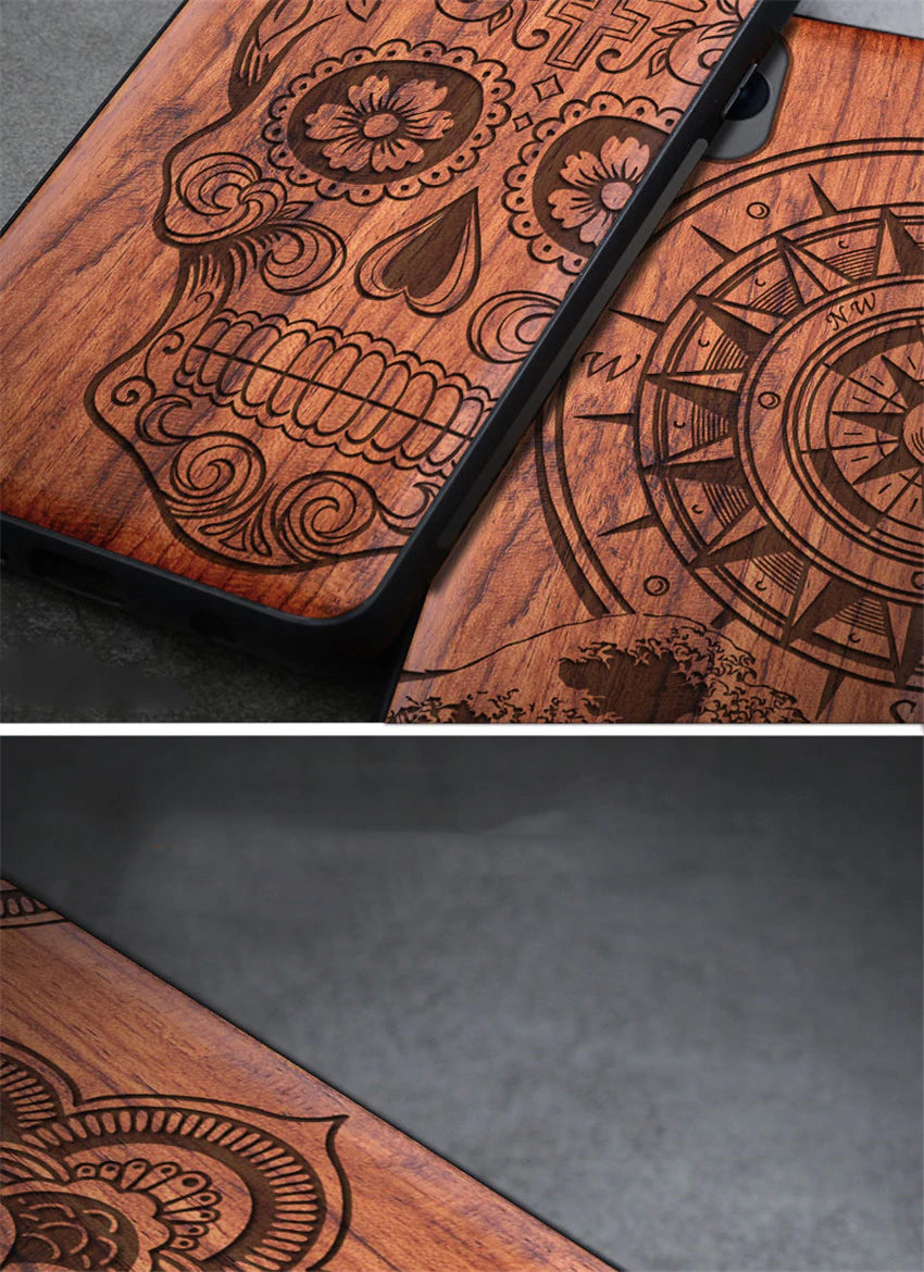 100% Natural Wooden Case For iPhone 12 Pro