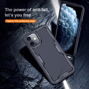 Tactics TPU Anti Falling Dirt-resistant Protection Case For iPhone 12 Series