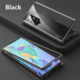 Double Side 360 Degree Magnetic Adsorption Glass Case For Samsung Galaxy S20 Series