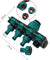 4 Way Out Hose Splitters Irrigation Adapter