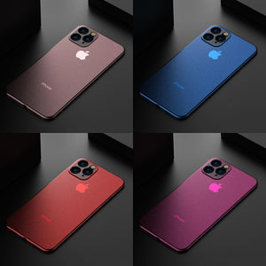 Luxury Ultra Thin Matte Case For iPhone 11 Series