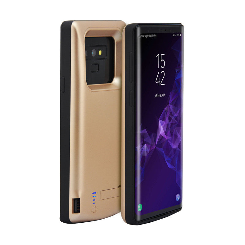 buy popular f499e 27901 6500mAh Battery Charger Case For Samsung Galaxy Note 9