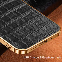 iphone 12 pro max leather case 4
