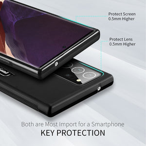 Shockproof Protective Cover with Cards Pocket Slim Case for Galaxy Note 20 Series