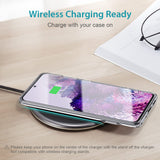 Flexible TPU Bumper Metal Kickstand Steady Shockproof Case for Samsung Galaxy Note 20 S20 Note 10 Series