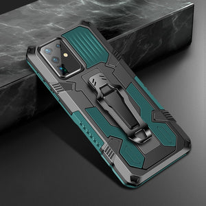 Luxury Shockproof Case Stand Metal Belt Clip Cover For Samsung Galaxy S20 Ultra Plus & Note 20 Ultra