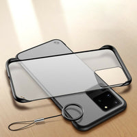 Frameless Design With Ring Phone Case For Samsung Galaxy S20 S20 Plus S20 Ultra