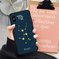 Constellations Zodiac Star Signs Phone Case for iPhone 11 & 12 Series