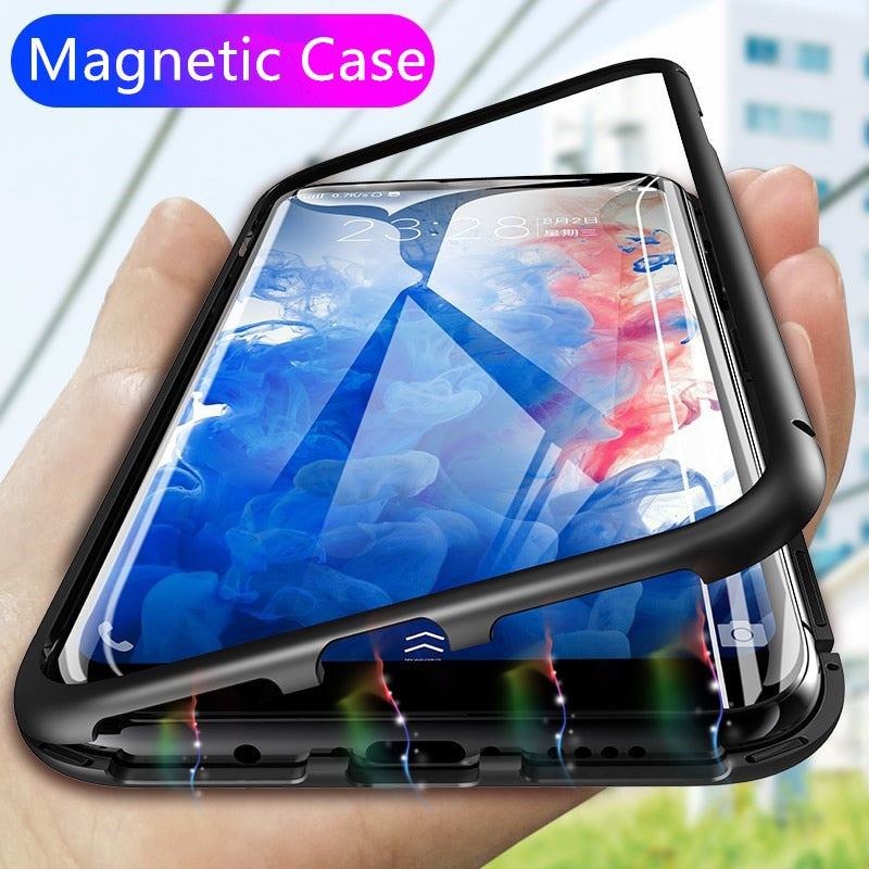 timeless design 8b5ad 67763 360 Magnetic Adsorption Phone Case for For Samsung Galaxy S9 S8 Plus Note 8  9