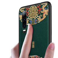Emboss Leather Phone Case